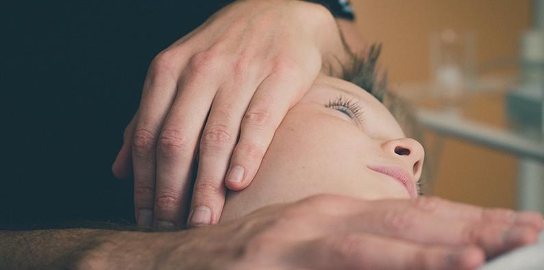Fasziale Osteopathie Anwendung